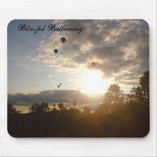 Blissful Ballooning Mouse Mat