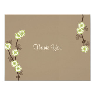 Blissful Blossoms Thank You Card