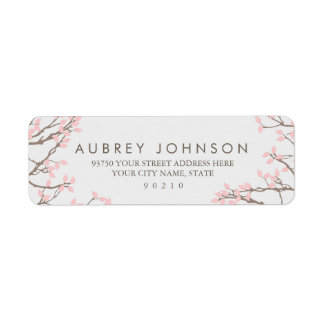 Blissful Branches Address Labels