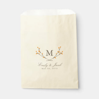 Blissful Branches Favor Bag