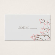 Blissful Branches Guest Table Escort Cards at Zazzle