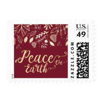 Blissful Branches Modern holiday Postage