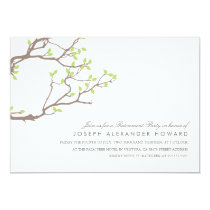 Blissful Branches Retirement Party Invite