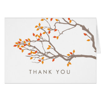 Blissful Branches Thank You Card