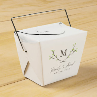 Blissful Branches Wedding Favor Box