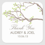 Blissful Branches Wedding Favor Stickers