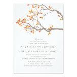 "Blissful Branches Wedding Invitation 5"" X 7"" Invitation Card"