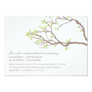 Blissful Branches Wedding Rehearsal Dinner Invite