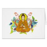 Blissful Buddha Greeting Cards