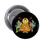Blissful Buddha Pinback Button