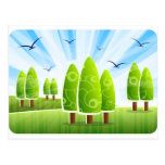 Blissful Landscape Post Cards