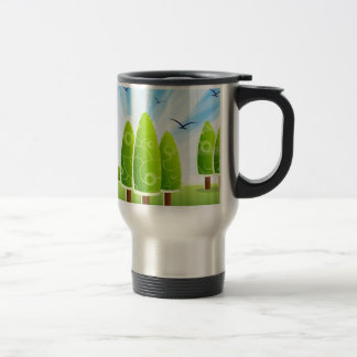 Blissful Landscape Travel Mug