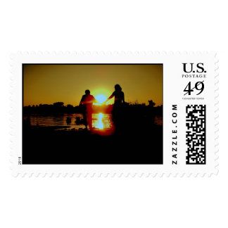 Blissful Moments Postage Stamp