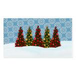 Blissfull a y desde etiquetas del navidad tarjetas de negocios
