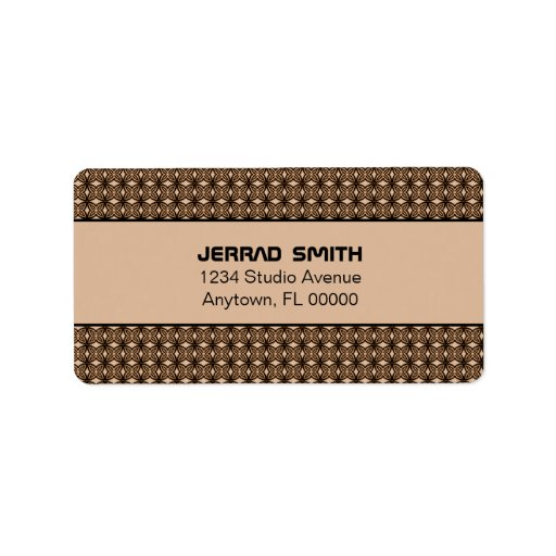 Blissfully Chic Address Labels