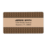 Blissfully Chic Shipping Labels