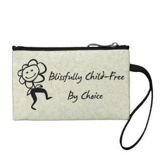 Blissfully Child-Free Coin Purse