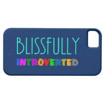 Blissfully Introverted - iPhone 5 Cases