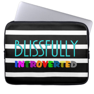 Blissfully Introverted - Laptop Sleeves