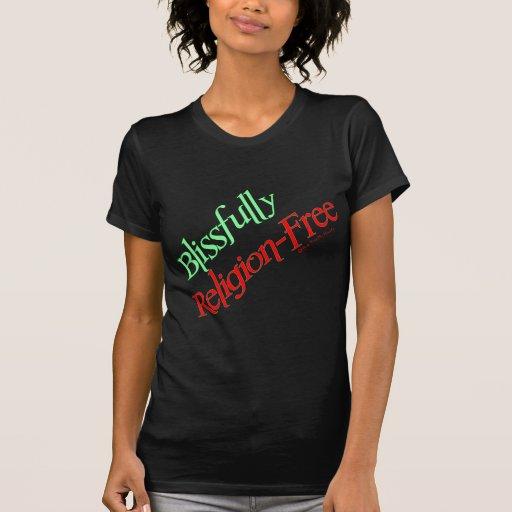 Blissfully Religion-Free Shirts