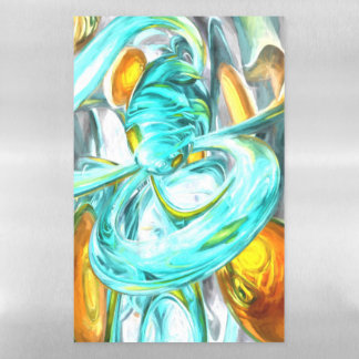 Blissfulness Pastel Abstract Magnetic Dry Erase Sheet