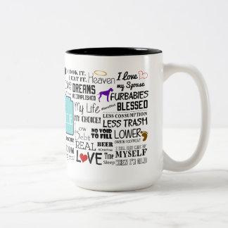 Blissville Childfree Mug (2-Toned)