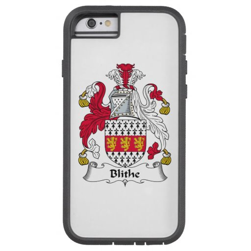 Blithe Family Crest iPhone 6 Case