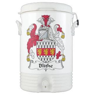 Blithe Family Crest Igloo Beverage Cooler