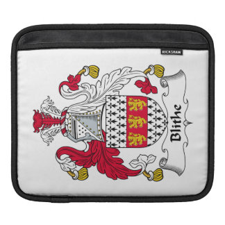 Blithe Family Crest Sleeves For iPads