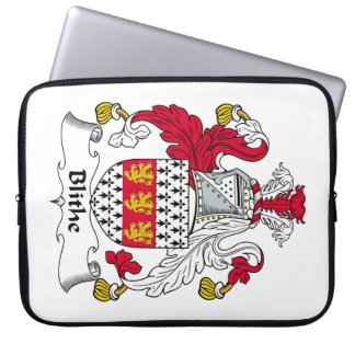 Blithe Family Crest Laptop Sleeve