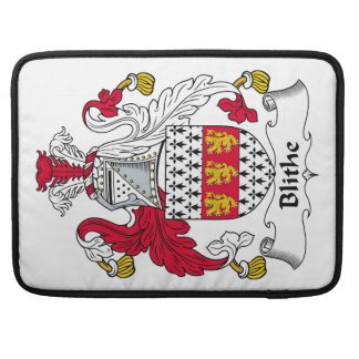Blithe Family Crest Sleeve For MacBook Pro