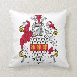 Blithe Family Crest Pillow