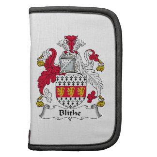 Blithe Family Crest Folio Planner