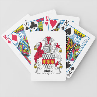 Blithe Family Crest Bicycle Poker Deck