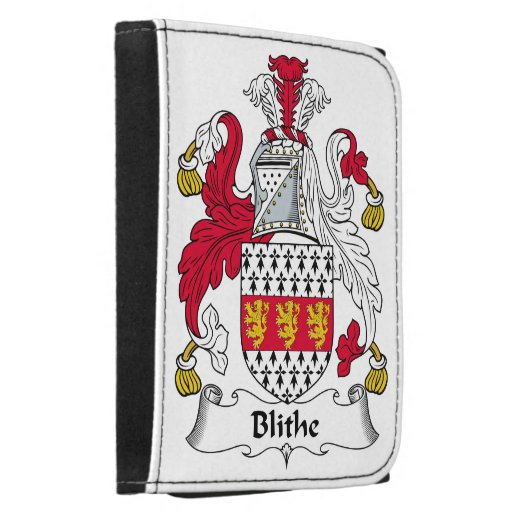 Blithe Family Crest Wallets