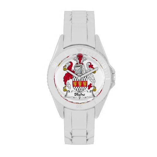 Blithe Family Crest Wristwatch