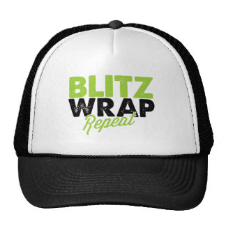 Blitz Wrap Repeat - Body Wrap Hat