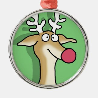 BLITZEN by Sandra Boynton Ornament