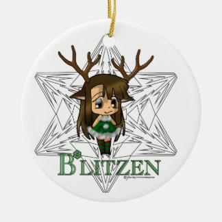 Blitzen Ornaments