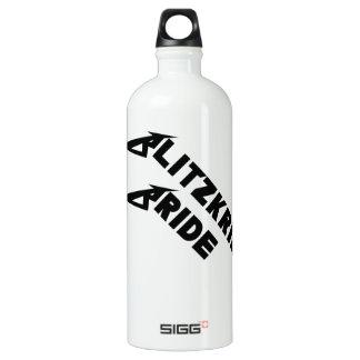 Blitzkrieg Bride Aluminum Water Bottle