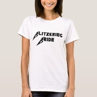 Blitzkrieg Bride Womens T-Shirt