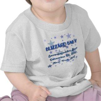 Blizzard Baby Tshirt - Snowpocalypse Baby Tshirt shirt