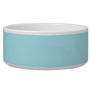 Blizzard Blue Background Bowl
