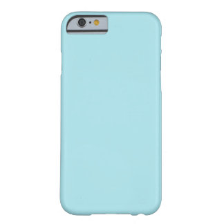 Blizzard Blue Background Barely There iPhone 6 Case