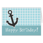 Blizzard Blue Gingham; Anchor Cards
