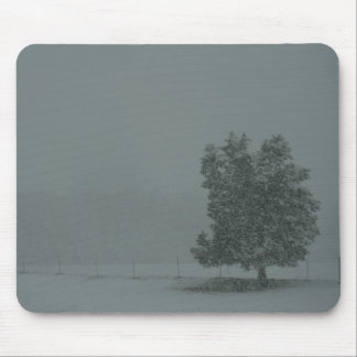 Blizzard Conditions Mouse Pad