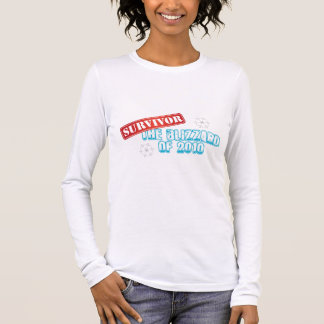 Blizzard of 2010 Survivor Long Sleeve T-Shirt