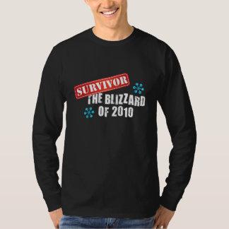 Blizzard of 2010 Survivor T-Shirt