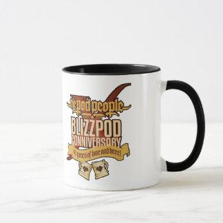 BlizzPodConniversaryX Blackline Mug