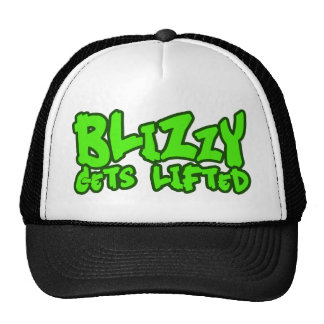 Blizzy gets lifted trucker hat
